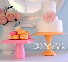 diy cake stands