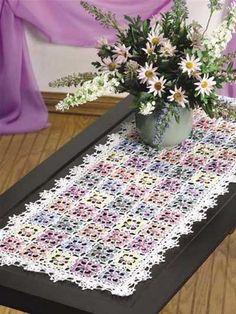 Dappled Blossoms Table Runner