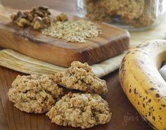 Banana bread cookies - 25 cals each... more convenient than banana bread.