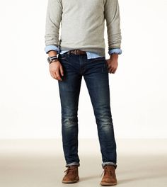 Men's fashion. Casual, stunning look!   ~ M.M