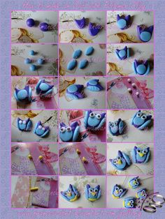 Tutorial How to make an Owl with Polymer Clay by ~FrancescaBrt on deviantART
