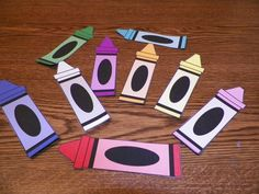 Think Crafts - Crayon Magnet Activity