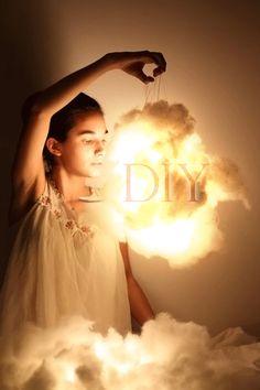MoreDesignPlease - DIY: LightClouds