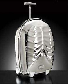Skeleton Luggage II designed by Alexander McQueen for Samsonite.