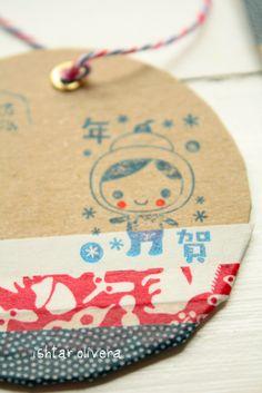 washi tape tag  wishywashi .com for the tape