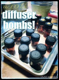 Diffuser Bombs!  Share some Diffuser Love ~ recipes & blends too! To order or for more info mydoterra.com/tiffanytduty or Tiffany.duty@ymail.com