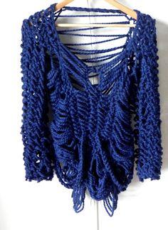 open work knitwear