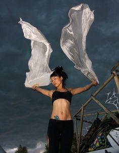 Silk Dance Fans