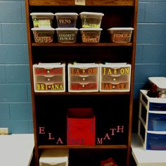 Organizing my special education classroom by using a Cricut.