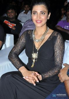 Actor Shruti Hassan statement #Necklace ~