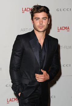 """Zac Efron. He is literally on the """"people"""" section on pinterest every time I look. Why? Cause he's freaking sexy"""