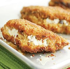 Chile & Jack Cheese-Stuffed Chicken Breasts Recipe