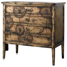 Chest - Like leather and lace, this cache chest combines the feminine with the masculine.