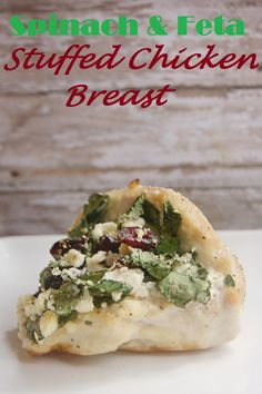 weight watchers feta and spinach stuffed chicken breast recipe
