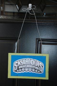 Skylander party!