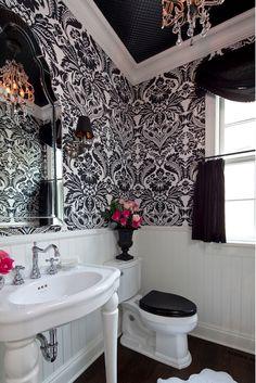 interior, small bathroom, dream bathrooms, black white, bathroom designs