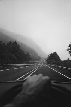This is the kind of road that makes our heart beat faster.