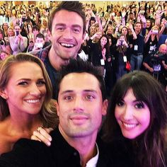 Shantel, Robert, Stephen, and Kate at the OTH convention in Paris