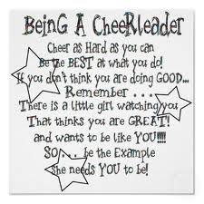 cheer stuff, cheerleading, cheerlead poster, idea, gift, life, sport, cheer quot, role models
