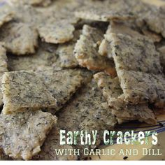 Earthy Crackers with