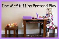 The Activity Mom: Doc McStuffins Pretend Play (printables)