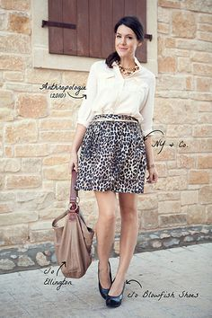 love the skirt and the whole look