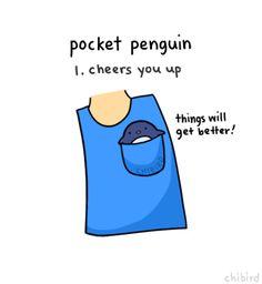 I need a pocket penguin