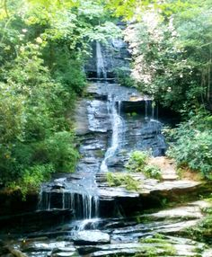Waterfalls in Bryson City, NC