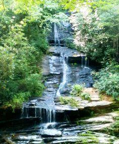 Waterfalls in Bryson City, NC