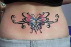 Cute Lower Back Tattoo