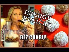 Sladké ENERGY KULIČKY - rychlovka bez cukru !!!
