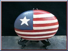 Painted Rocks ~ Love this for the 4th! ♥♥