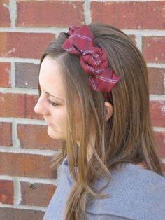 "another great ""necktie"" headband"