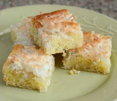 Layered Coconut and Lime Bars