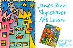 Rizzi-Skyscraper-art-lesson