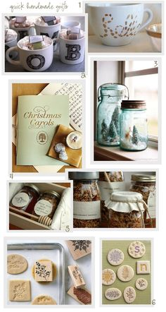 HOLIDAY INSPIRATION & LAST MINUTE HOMEMADE GIFTS