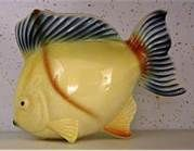 Pottery and vases on pinterest 26 pins for Fish thrift store