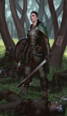 Outlaw by ~Greg-Opalinski on deviantART. Amazing female warrior, with a celtic vibes.