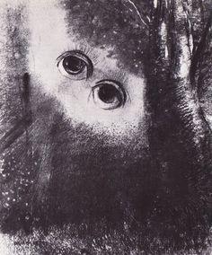 Yeux dans la forêt. Odilon Redon