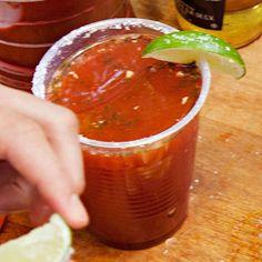 The Tailgating Menu, DRINK | Michelada #RRMenuPlanner