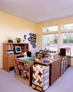 quilting space ideas   Quilting Essentials Creating Your Perfect Quilting Space - Sewing-Room ...