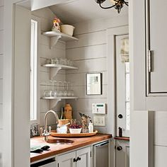 Real-Life Redo: Cottage Makeover | Butler's Pantry | SouthernLiving.com