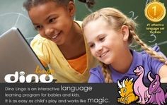 Dino Lingo Language Learning Program for Kids... I WANT THIS!!! this would be great for the kids!