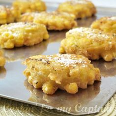 Corn Crisps..a little bit sweet..a little bit spicy...great as an appetizer or to go with a bowl of soup, stew or chili.