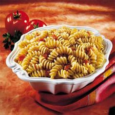 SIMPLE SEASONED PASTA: Cooking pasta in chicken broth instead of water, with just a few simple seasonings, gives you an easy-to-make side dish that pairs nicely with just about any main dish.
