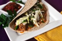 Slow Cooker Chicken Taco