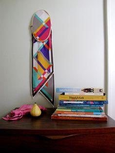 DIY: frame a vintage scarf