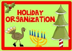 Teach123: Holiday Organization