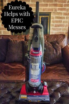 Vacuuming with the E