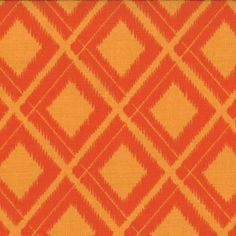 Ikat Diamonds Sweet Tangerine ~ Simply Color @ Sew,Mama,Sew